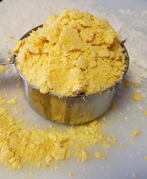 Farinha de milho amarela flocada