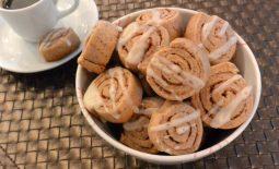 Biscoitos de Canela – Cinnamon Roll Cookies