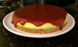 Cheesecake de Mascarpone com Goiabada