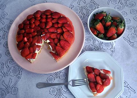 A melhor torta de morango de todas!