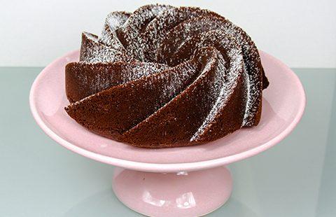 Bolo de Chocolate Aromatizado