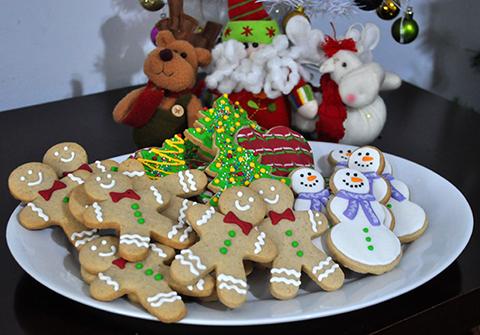 Biscoitos de Natal Decorados!