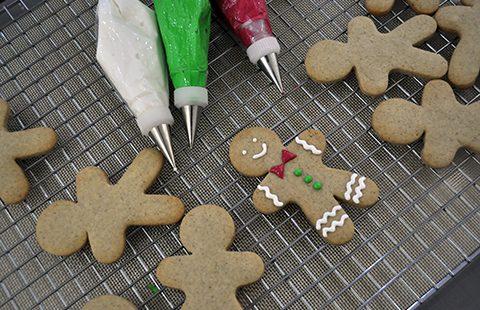 Biscoitos Decorados de Natal – Passo a Passo com Vídeos