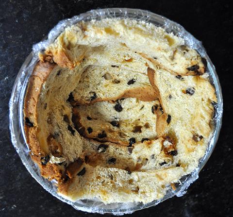 Zucotto de panetone com semifreddo de mascarpone: a base