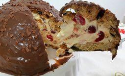 Zucotto de Panetone e Semifreddo de Mascarpone – Sobremesa de Natal