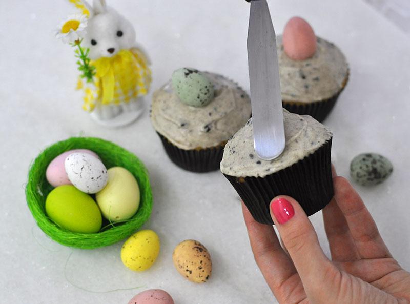 Como decorar cupcakes de páscoa