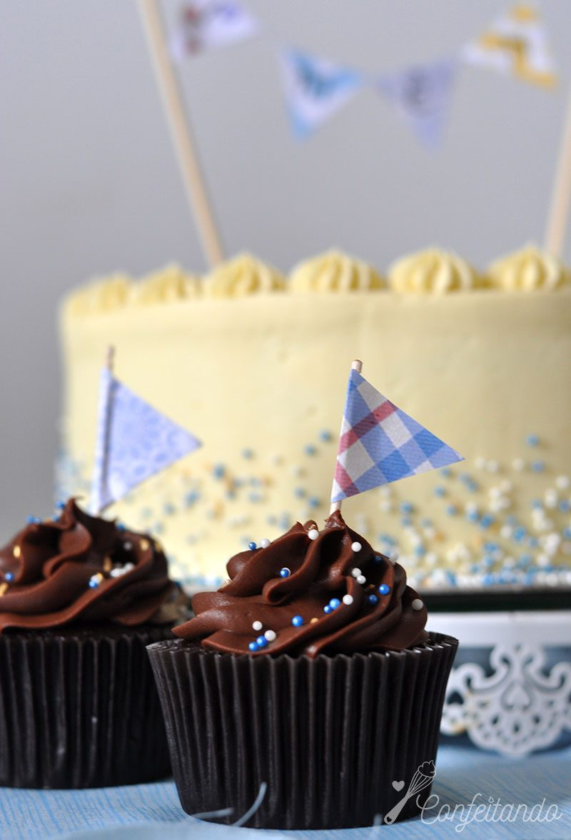 cupcakes diferenças em relação aos muffins