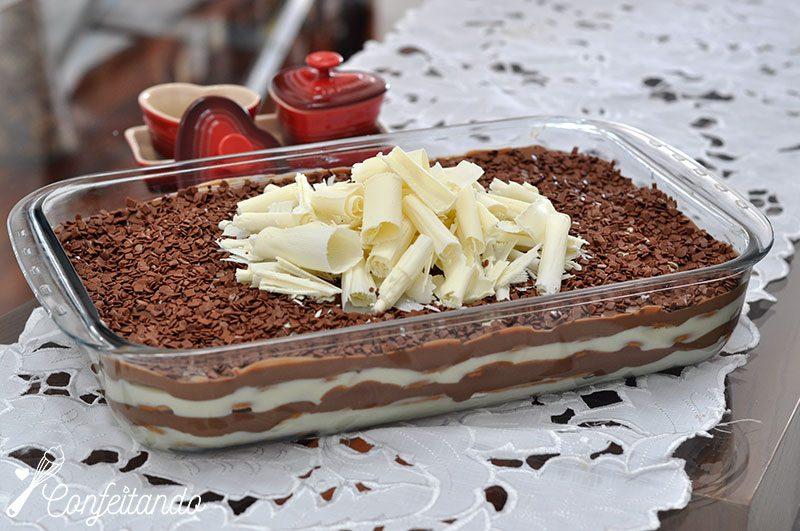 pave dois chocolates