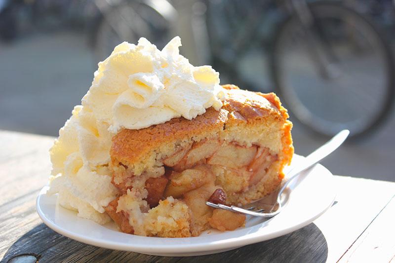 A melhor torta de maçã que você já provou