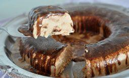 Sorvetão de Chocolate – Cassata – Sobremesa de Páscoa