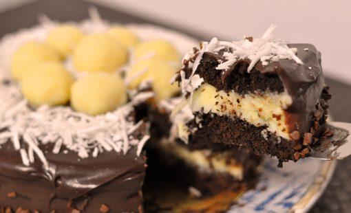 Bolo Prestígio – Bolo de Chocolate com Coco
