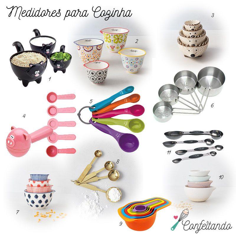 medidores cozinha