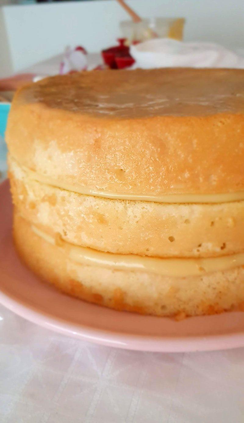 bolo bem casado montado