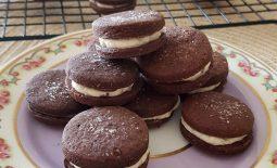 Bolachas de Chocolate Recheadas