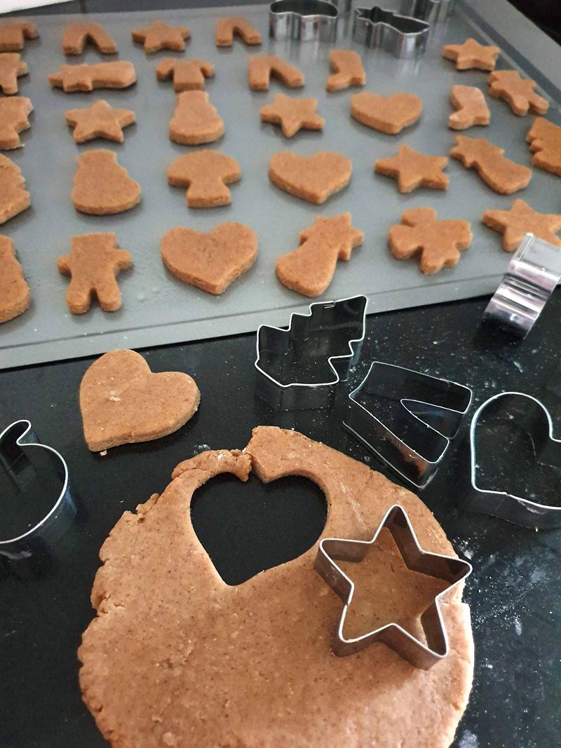 cortadores de natal para biscoito, gingerbread de natal