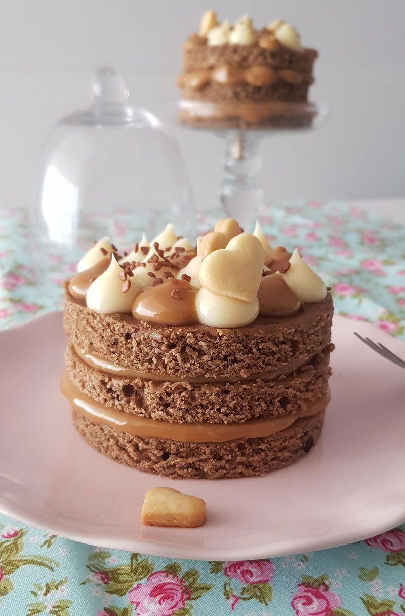 mini bolo pão de mel receita