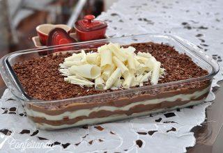 Pavê dois Chocolates - Sobremesa de Páscoa