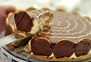 Torta holandesa, a primeira fatia