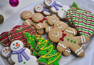 Biscoitos Decorados de Natal - Passo a Passo com Vídeos